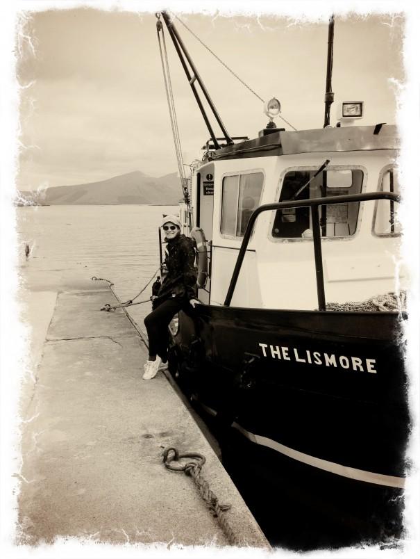 Työputken päätteeksi kävimme Skotlannissa Atlannin rannikolla. Siellä jos missä olisin normaalisti kirjoittanut.
