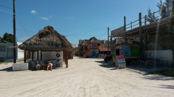 Jotain rauhoittavaa on kaupungissa, jonka tiet ovat hiekkaa.
