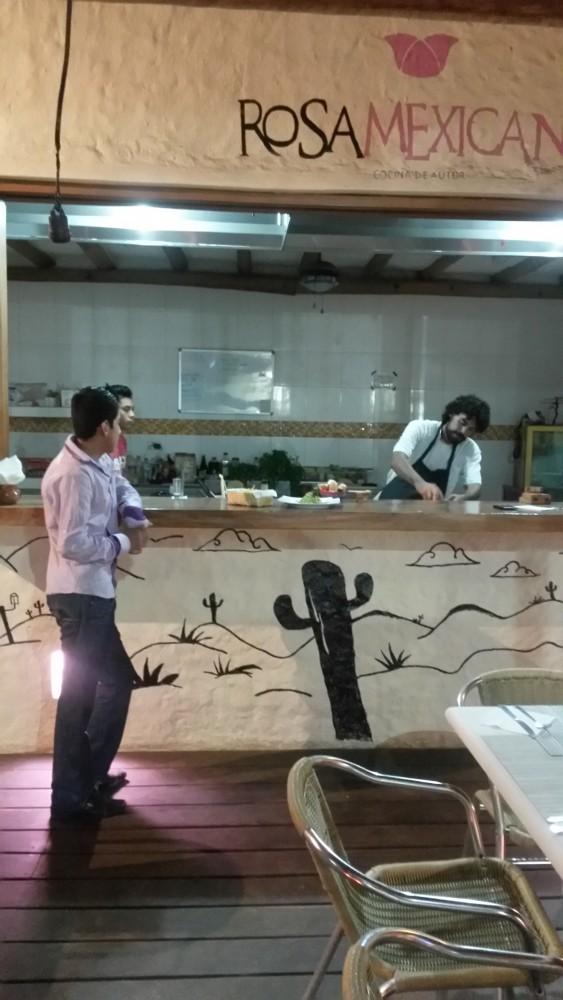 Holboxin paras ruokamuisto jää Rosa Mexicano -ravintolasta, jonka kolme kokkikaverusta perustivat yhdessä. Täältä sai mole poblano -kastiketta, jonka valmistaminen kestää lähes vuorokauden. Siihen tulee muun muassa papuja, chiliä ja suklaata.